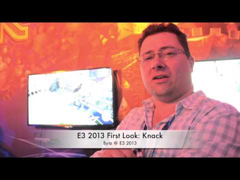 E3 2013: First Look at Knack for PS4