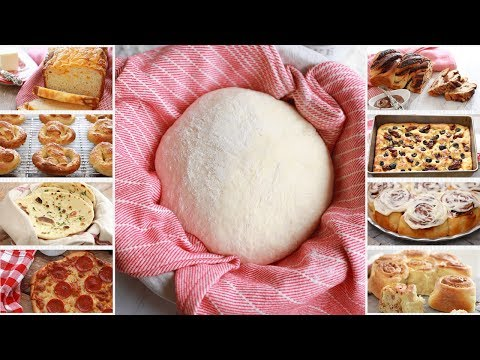 Crazy Dough: One Easy Bread Recipe with Endless Variations - Gemma's Crazy Dough Bread Series Ep 1