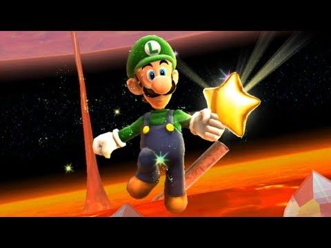 Super Luigi Galaxy Walkthrough - Part 20 - Melty Molten Galaxy