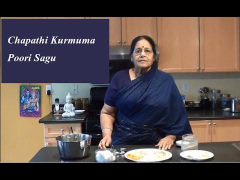 Sagu Recipe in Tamil - Chapathi side dish
