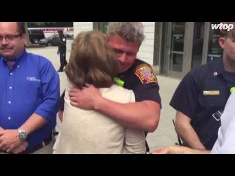 Va. man thanks EMTs, friends who brought him back from the brink
