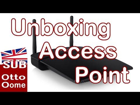 Unboxing, Setup en Installatie van een Access Point, Linksys WAP 300N. Wat is een access point?