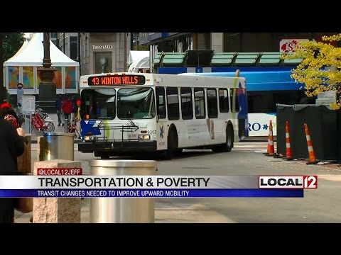 Childhood Poverty: Transit changes needed to improve upward mobility