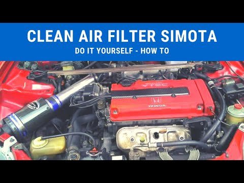 Do it yourself: Clean Simota Air Intake with household cleaning agent