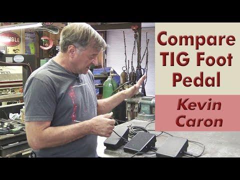 Comparing 3 TIG Welder Foot Pedals (Nova, SSC, Everlast Stock) - Kevin Caron