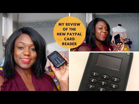 PayPal Business Card Reader 2017 - My Review