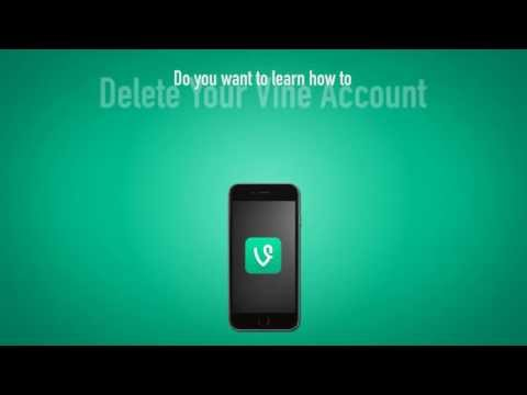 How To Delete Your Vine Account On Android