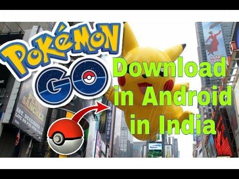 Download Pokemon GO Game in India