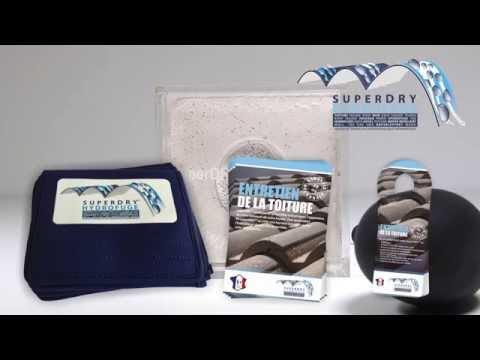 superdry sales tools - superDRY - invisible barrier against moisture and self cleaning roof tiles