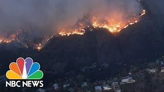 Wildfires Continue To Spread Across Southern California   NBC News