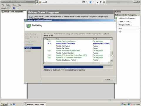 SQL Server 2008 Clustering - Part 6