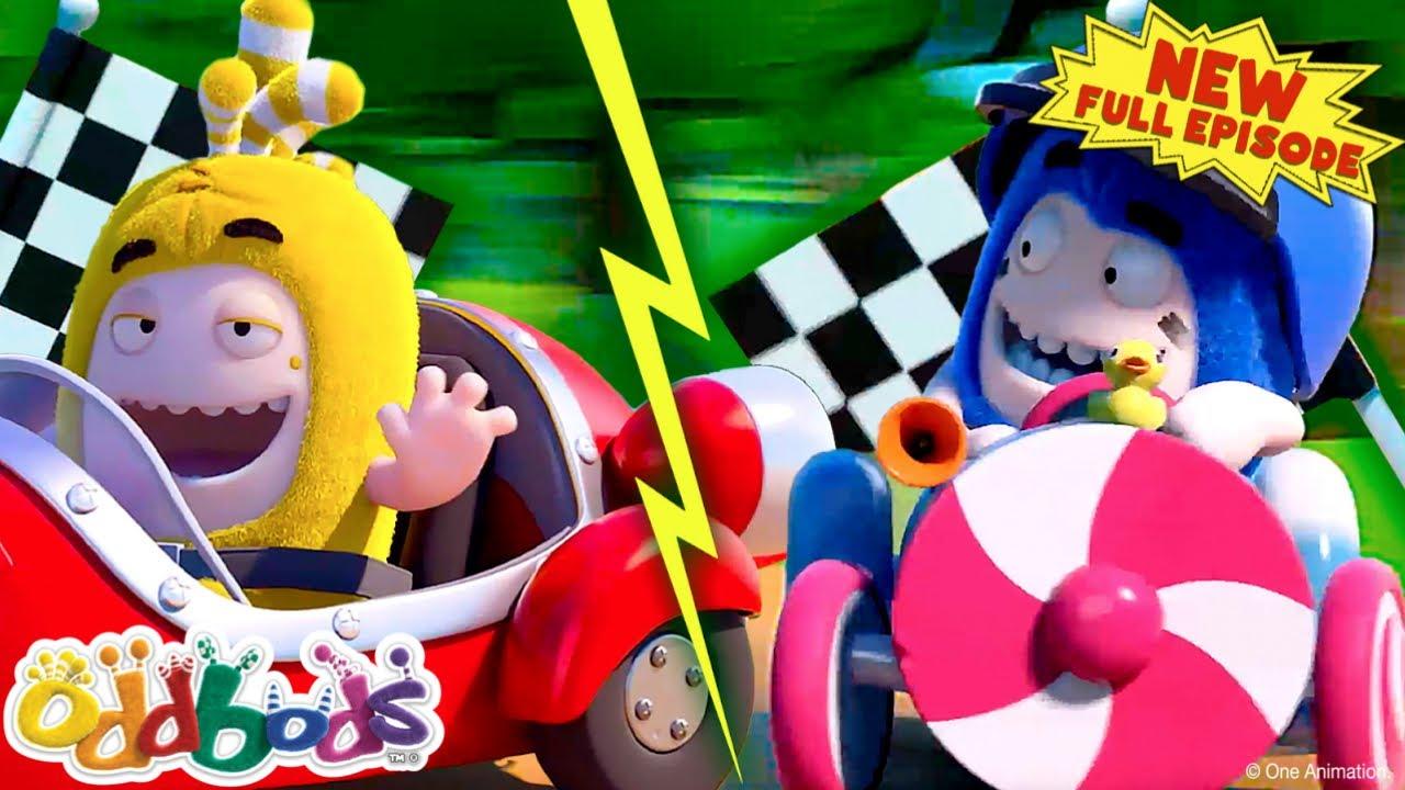Oddbods | Summer Go Kart Super Race | New FULL EPISODE | Funny Cartoon