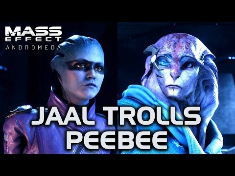 Mass Effect Andromeda - Jaal Trolls Peebee