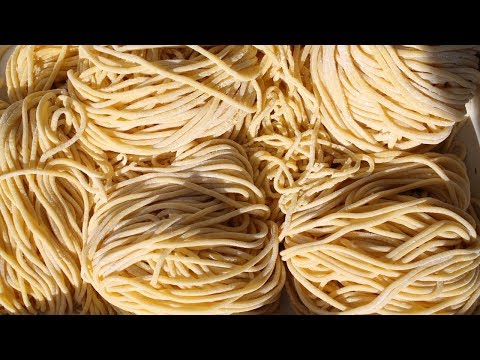 How to make Homemade Chinese Egg Noodles - 麵條 - Morgane Recipes