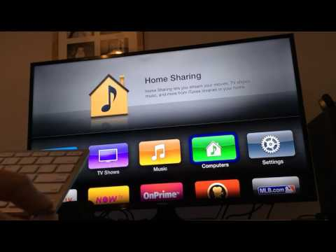 Apple tv 2 how to use if you have no remote. Using a Bluetooth keyboard