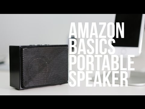 Amazon Portable Speaker Review