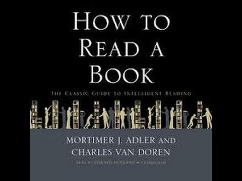 How To Read A Book - Chapter 3