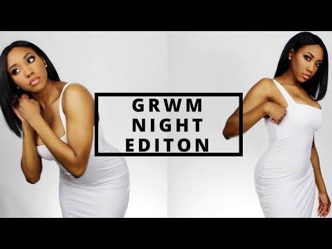 GRWM NIGHT OUT MAKEUP | FLOWERPUSH