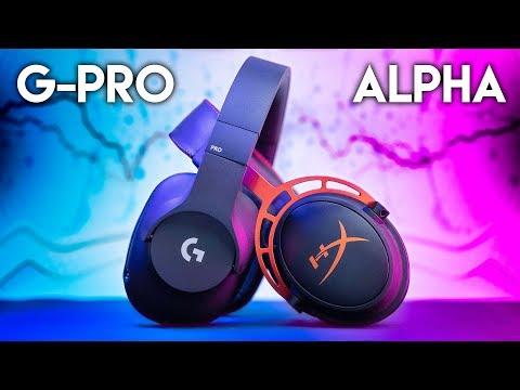 Logitech G PRO vs HyperX Cloud Alpha - $99 Gaming Headset BATTLE!
