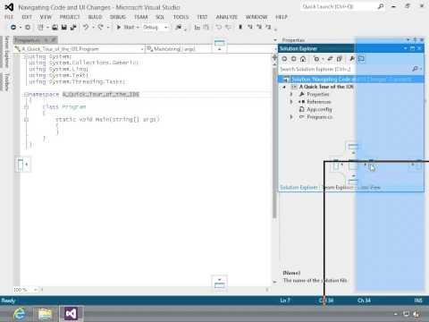 Learning to Program Using Visual C# 2012: Visual Studio 2012 IDE Tutorial