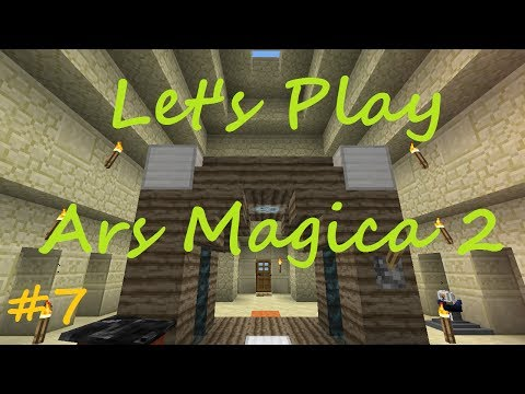 Minecraft - Ars Magica 2 Let's Play - Part 7 - Armor and Spell Books
