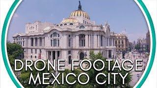 Drone Footage Of México City