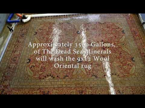 How to Properly Clean Fine Wool and Oriental Area Rugs – YouTube