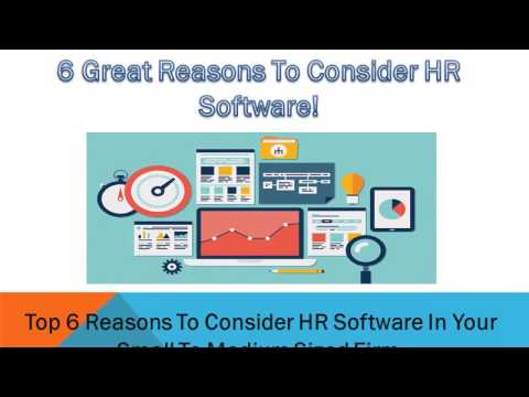 Top 6 reasons to consider hr software for your Small Business