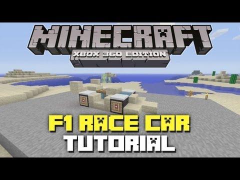 Minecraft Xbox 360: How to build a Race Car Tutorial