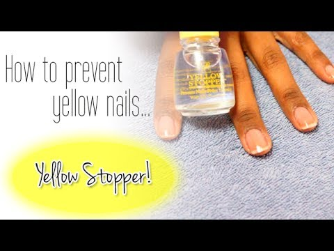 ✰How to Prevent Yellow Nails✰