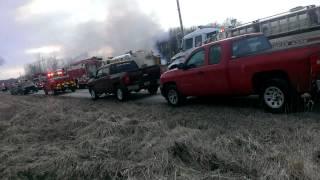 Garrettsville Turkey Farm Fire, part 6 (4/2/2014)