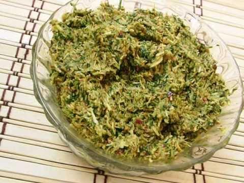 Andhra Recipes - Coconut & Coriander Chutney - Kottimeera Kobbari Karam - Andhra Telugu Indian Recipes Vantalu