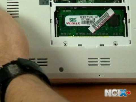 Upgrading your ASUS Eee PC (NCIX Tech Tips #10)