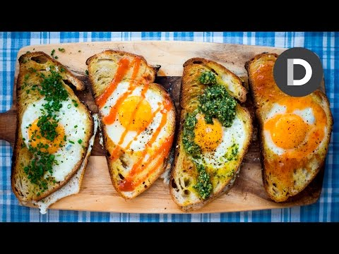 Hole in the Bread Eggs!