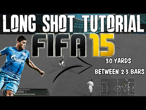 FIFA 15 Tutorials & Tips | How to Score Long Shots - Driven & Swerve  | Best FIFA Guide (FUT & H2H)