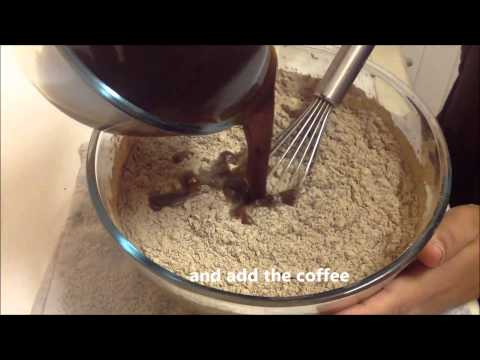 Easy Chocolate Cake Recipe 2015 |How To Make A Coffee Chocolate Cake