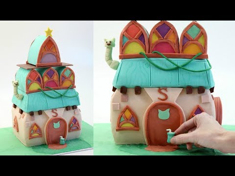 Witch House Cake 'Stella's House'