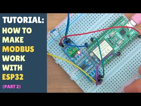 TUTORIAL: How to make MODBUS work with ESP32 - Arduino