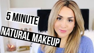 Everyday No Makeup Makeup 5 Mins Or Less
