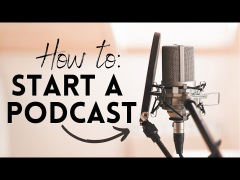 How To Start A Podcast | GIVEAWAY, Getting on iTunes, Hosting & MORE!