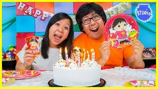 Download RYAN'S WORLD Happy Birthday Party + Surprise Toys!!! Video