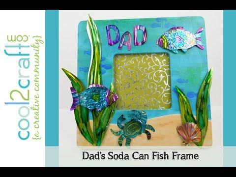 Aleene's Soda Can Fish Frame by EcoHeidi Borchers