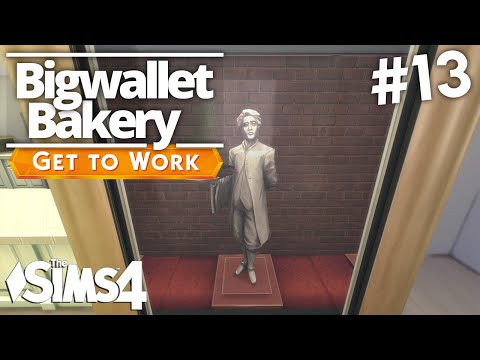 The Sims 4 Get To Work - Bigwallet Bakery - Part 13