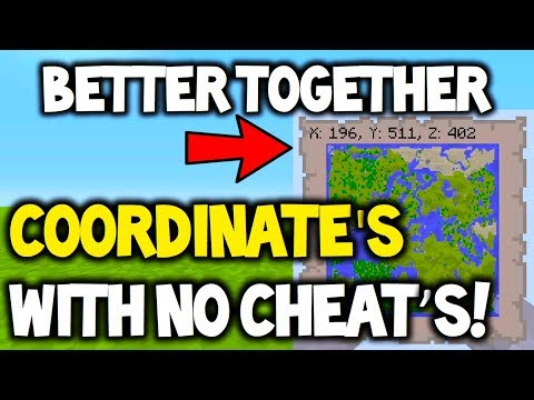 Minecraft BETTER TOGETHER Update - Coordinates with no cheats! CAN HAPPEN!
