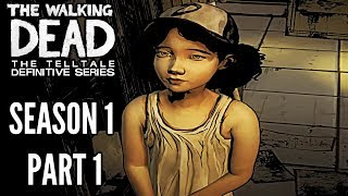 The Walking Dead: Definitive Edition SEASON 1 GAMEPLAY walkthrough (REMASTERED TWD)