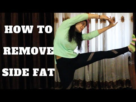 How To Remove Side Fat | 5 Simple Exercises | WORKitOUT
