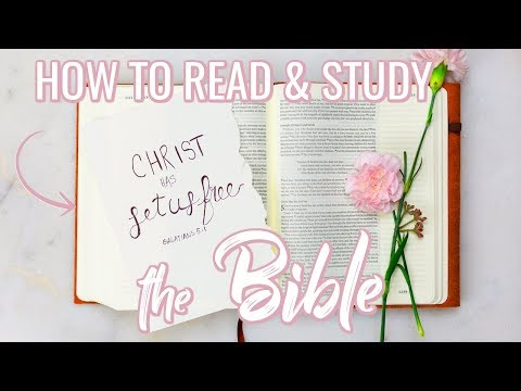 HOW TO READ & STUDY YOUR BIBLE + Note-Taking Tips!