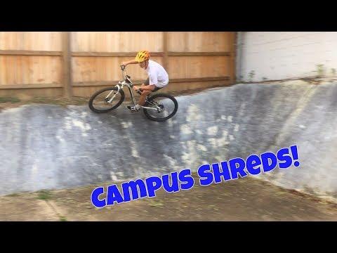 MTB riding at Auburn University! | General Mundy Fitness Trail