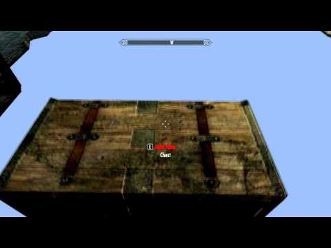 Skyrim - How to get OoB Chest (Out of Bounds)