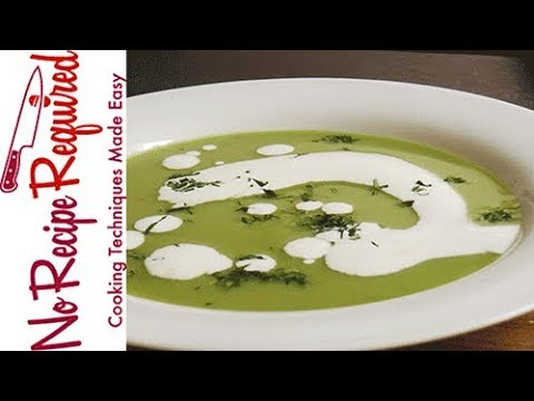 How to Make Pea Soup - NoRecipeRequired.com